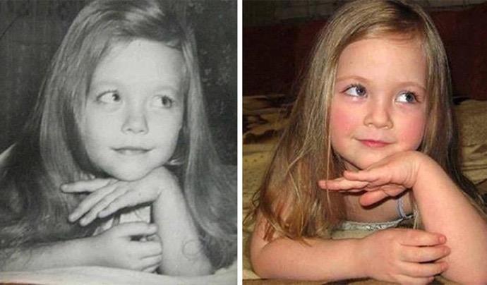 ALE PODOBNI! Te dzieci to kopie swoich rodziców sprzed lat. Geny potrafią zdziałać cuda!