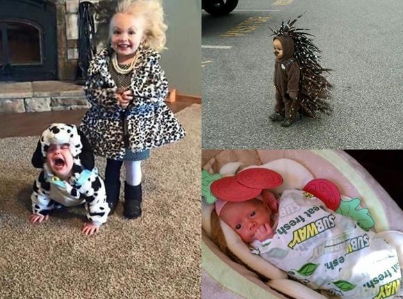 Najśmieszniejsze kostiumy dla dzieci. Cóż za uroczy widok!