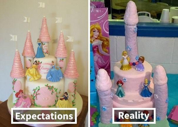 Oczekiwania vs. Rzeczywistość: najbardziej nieudane urodzinowe torty dla dzieci