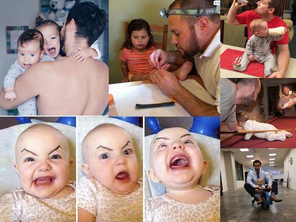 Najlepsi ojcowie na świecie - oni wiedzą, co to znaczy humor!