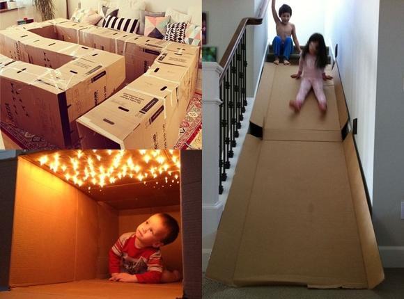 Wykaż się kreatywnością i... wyczaruj kartonową zabawkę dla swojego dziecka!