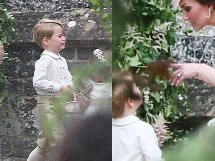 Dlaczego książę George płakał na ślubie cioci Pippy? Znamy odpowiedź!