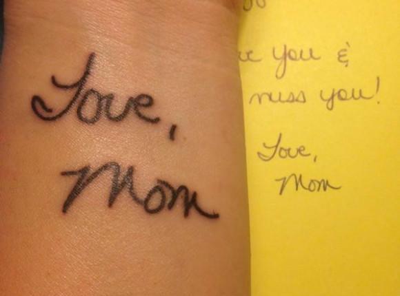 Rysunek Dziecka Jako Tatuaż Rodzice Uwieczniają Dzieła Swoich