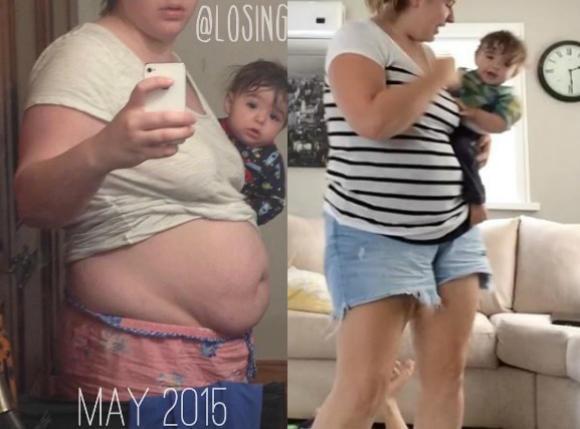 Zero makijażu, nieumyte włosy, nadwaga i rozciągnięty dres - czy tak musi wglądać młoda mama?