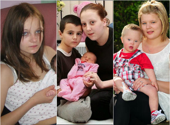 Oto najmłodsi rodzice świata... Mają po 10-13 lat! Czy tak powinno być?