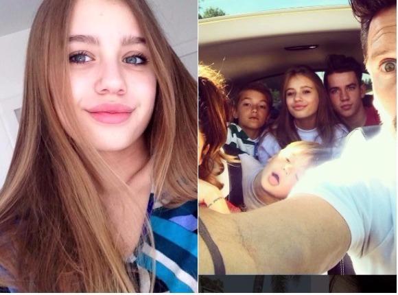 """Dzieci Anny Przybylskiej wyjechały na wakacje ze sławną """"ciocią"""". Zobaczcie, z kim przyjaźnią się Oliwia, Jaś i Szymon."""