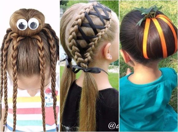 Fryzury Na Halloween Dla Dziewczynek Spraw By Twoja Córka