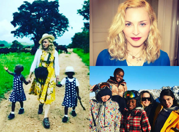 Madonna adoptowała bliźniaczki z Malawi! Pokazała zdjęcie. Będzie mieć SZEŚCIORO dzieci!