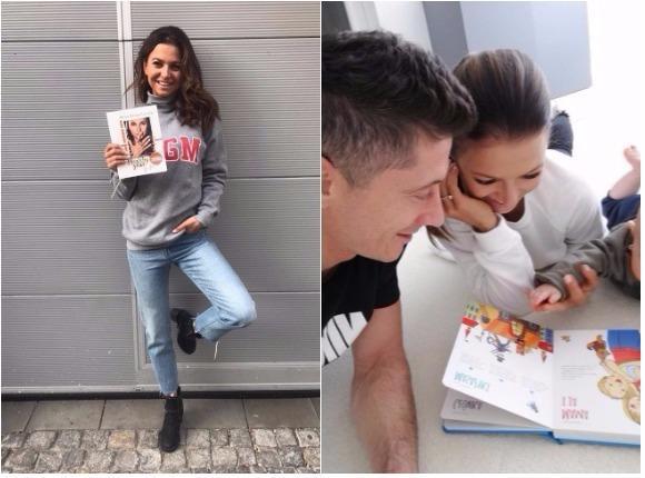 Klara Lewandowska promuje kalendarz mamy. Lepszej reklamy Ania nie mogła sobie wymarzyć!
