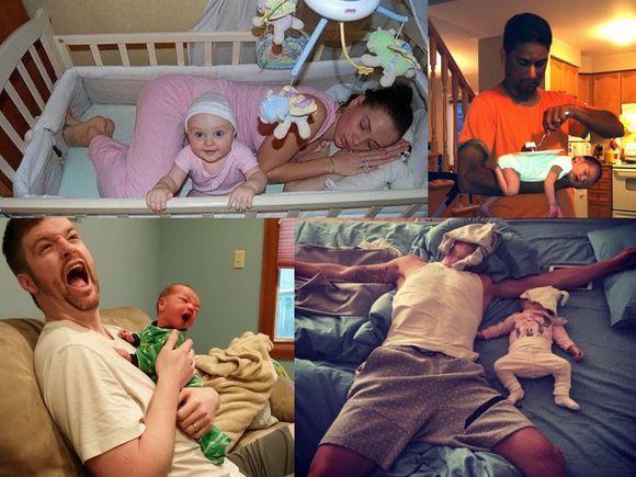 15 zdjęć, które zrozumie każdy rodzic - nr 9 to mistrzostwo!