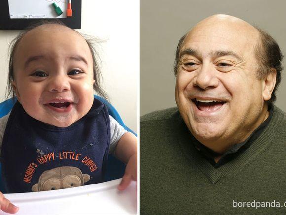 Dzieci, które wyglądają jak znane gwiazdy - co za podobieństwo!