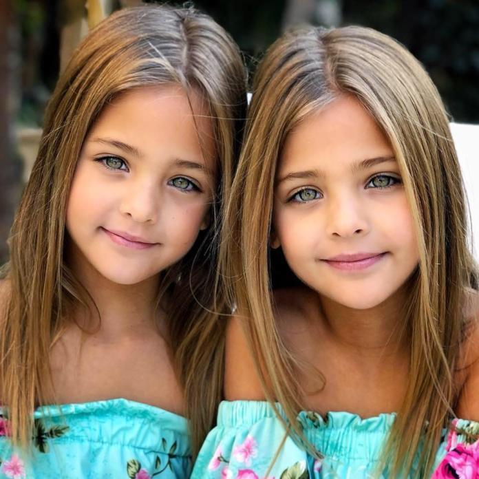 """Okrzyknięto je """"najpiękniejszymi bliźniaczkami na świecie"""". Te dwie dziewczynki robią furorę w świecie mody!"""