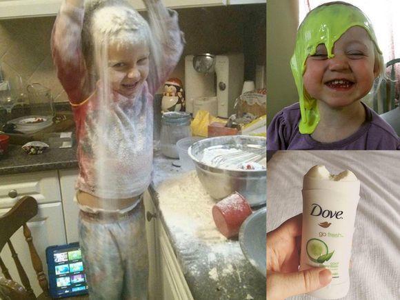 Ci rodzice muszą mieć nerwy ze stali - ponad 20 zdjęć prezentujących pomysłowość maluchów. Zdjęcie nr 16 to hit