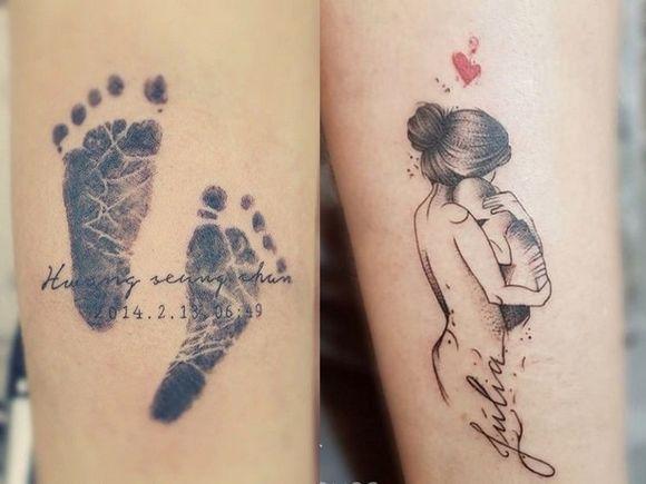 Tatuaże Dla Mam 20 Wzorów Podkreślających Niezwykłą Więź Z