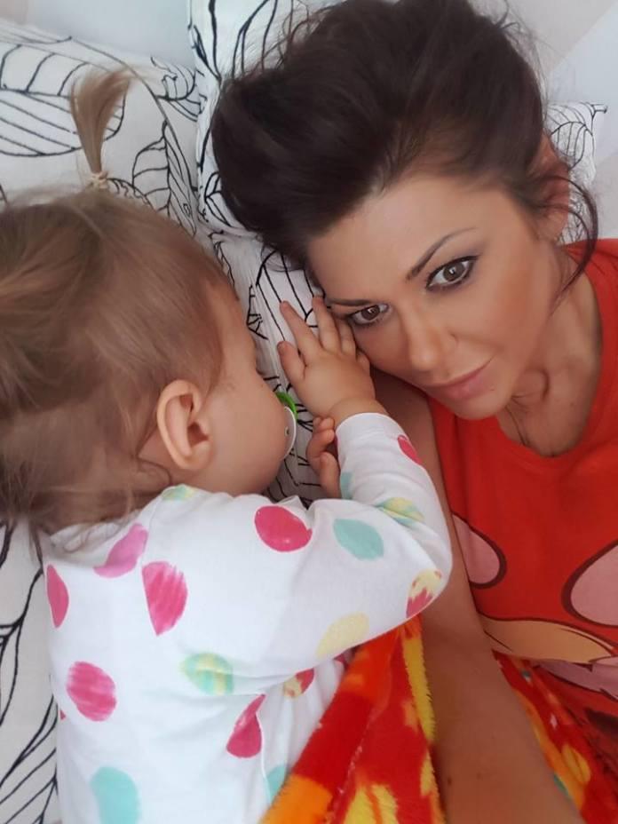 Iwona Węgrowska z córką na ściance. Mała Lilia ma już 2,5 roku!