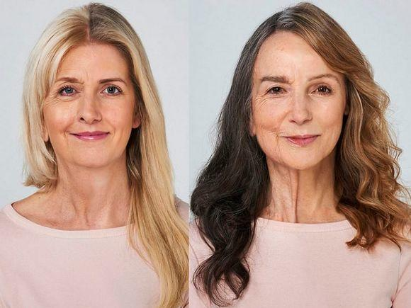 Podobieństwo tych matek i córek po połączeniu połówek ich twarzy w Photoshopie OSZAŁAMIA!