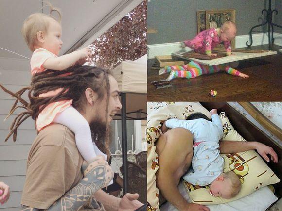 Zdjęcia, które pokazują, jak wygląda normalny dzień z życia rodzica. Też macie tak wesoło?