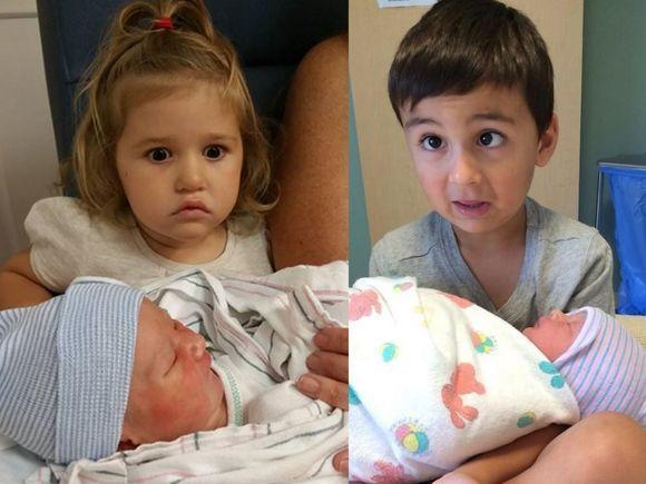 Dzieci, które nie chciały mieć rodzeństwa - ich reakcje na widok braci i sióstr podbiły sieć!