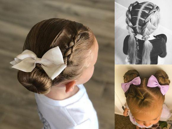Urocze fryzurki dla dziewczynek - galeria najlepszych pomysłów z Instagrama