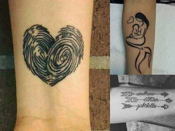 Pomysły na tatuaże dla mam - 10 oryginalnych wzorów!
