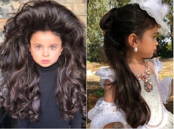 Pięcioletnia modelka zachwyca BUJNĄ fryzurą, lecz także budzi kontrowersje. Co takiego OBURZYŁO internautów?