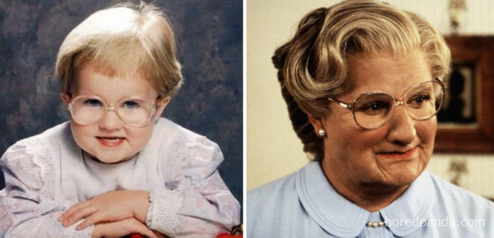 Te maluchy wyglądają jak sławni ludzie - są identyczne!