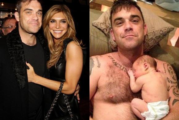 Rodzicielstwo prostsze niż kiedykolwiek! Robbie Williams przerywa milczenie po narodzinach Coco
