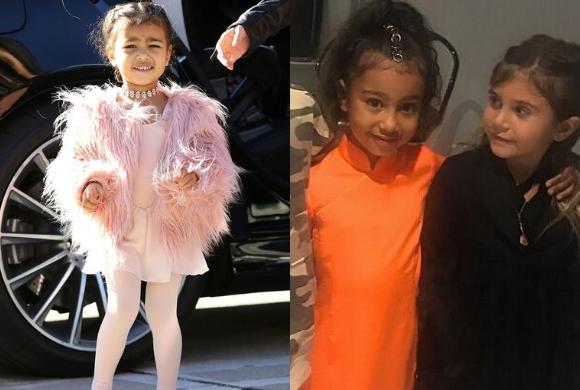 Córka Kim Kardashian zadała szyku w misternej fryzurze. Ale to jej POWIEKI skradły show!