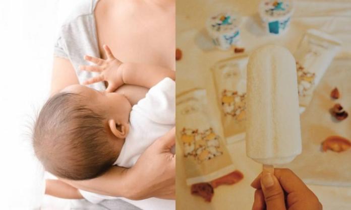 To najzdrowsze lody dla niemowlaka i możesz je zrobić sama, z mleka odciągniętego z piersi!