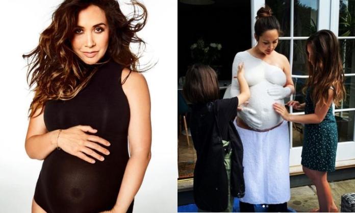 Celebrytka w słodki sposób upamiętniła swoją ciążę i teraz inne mamy chcą ją naśladować!