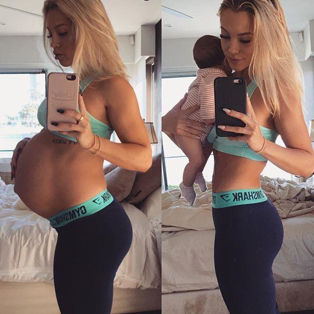 Fenomenalna metamorfoza po ciąży w... 2 miesiące! Jak ona to zrobiła?