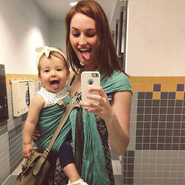 Jaka matka, taka córka: urocze zdjęcia ukazujące tę magiczną więź