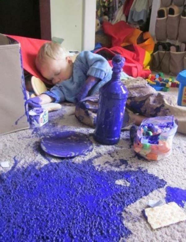 Rodzicielstwo to nie lada wyzwanie!  Zobaczcie, jak wygląda naprawdę...