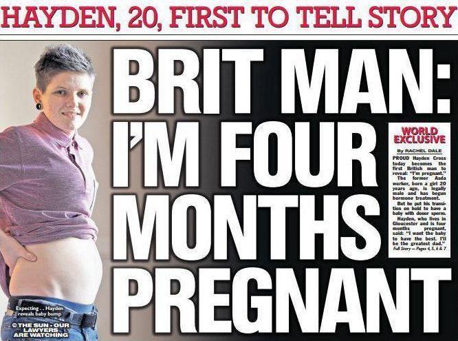 """SZOK! 20-letni Brytyjczyk jest w... CIĄŻY!: """"Będę najlepszym ojcem"""""""