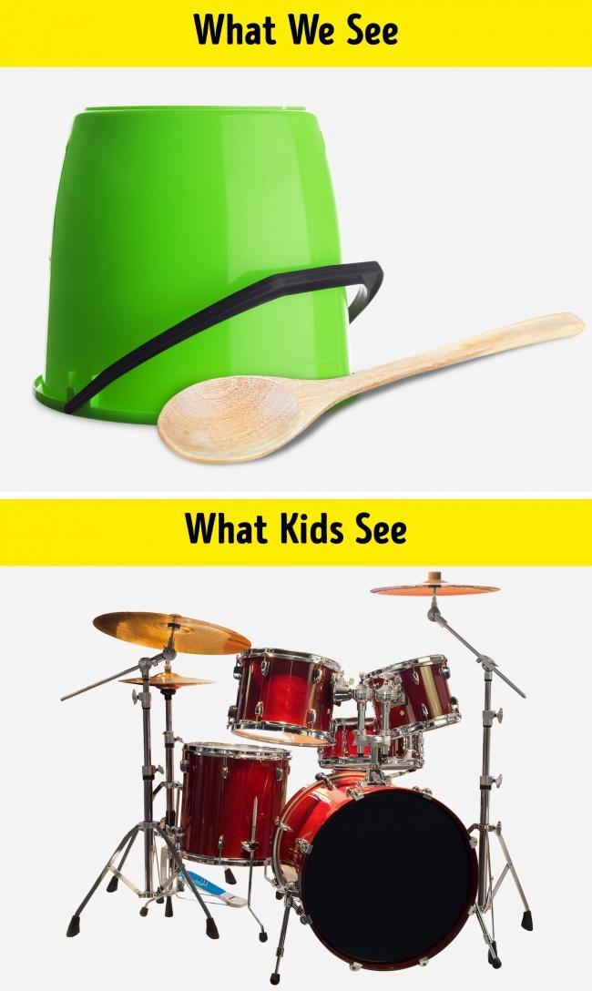 10 sytuacji, które pokazują, że to co widzimy, nie zawsze jest tym co widzą dzieci - genialne porównania