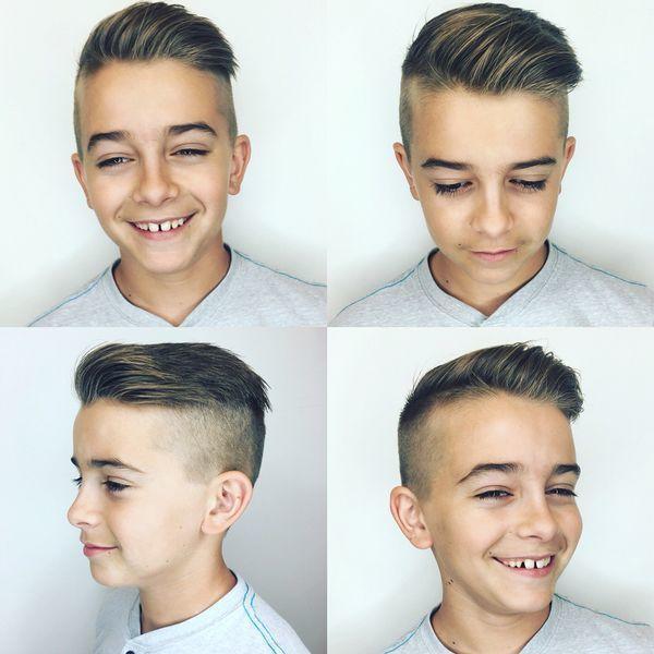 Modne fryzury dla chłopców w każdym wieku - przegląd fryzjerskich trendów