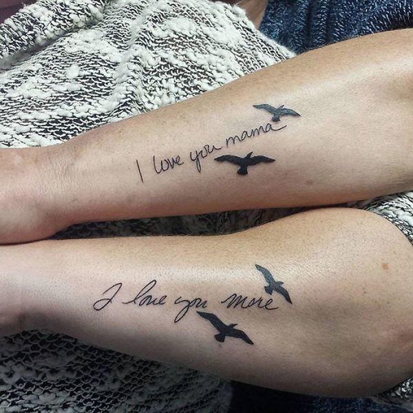 Tatuaże dla mam - przeurocze pomysły, które chwytają za serce