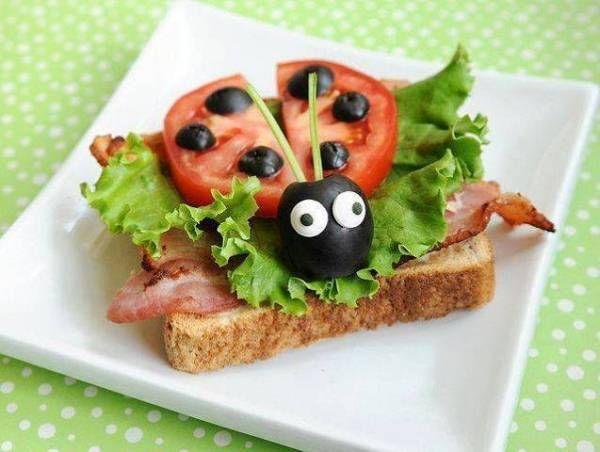 Inspiracje na pięknie podane śniadania dla dziecka