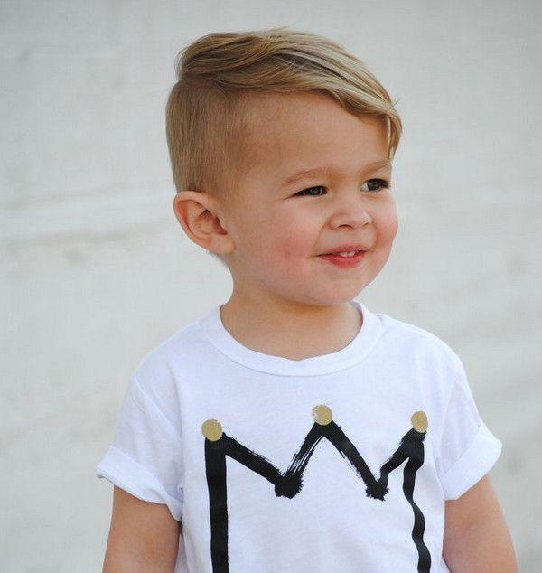 Modne fryzury dla chłopców w każdym wieku – trendy 2019