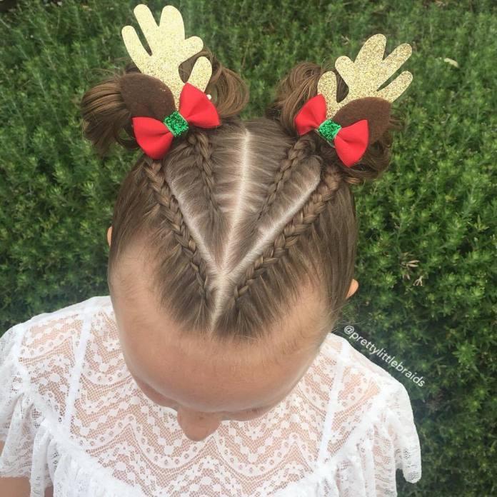 Zabawne fryzury dla twojej pociechy na Mikołajki, święta i zabawy choinkowe. Wypróbuj je już dziś!