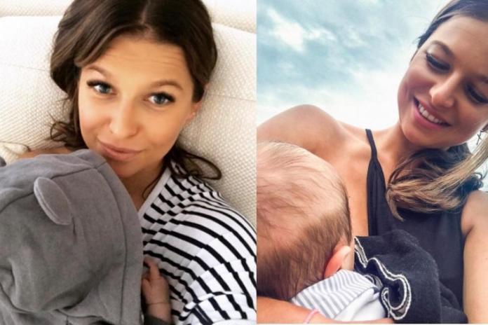 """Anna Lewandowska pozuje z córką. Internautki: """"Parcie na wieczny rozgłos"""""""