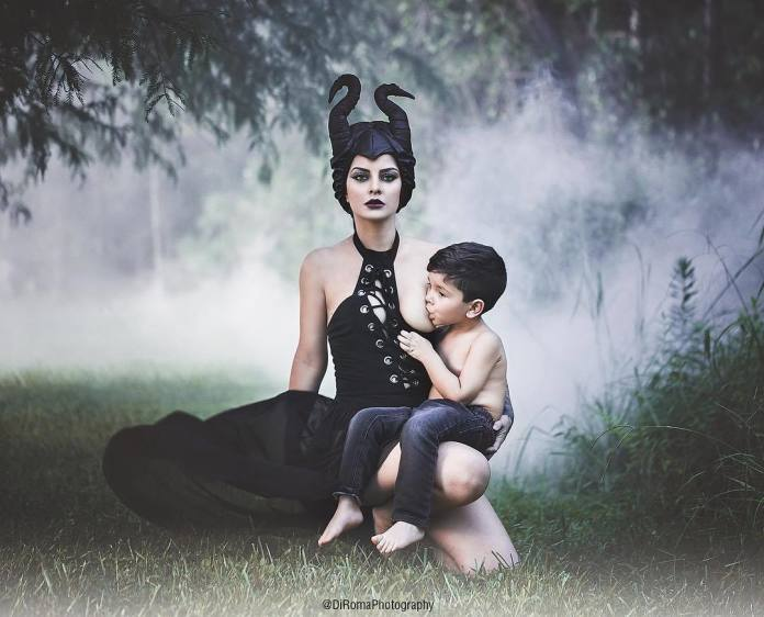 """Ta matka karmi piersią 3-LETNIEGO syna i chwali się tym na Instagramie! Internauci: """"To pedofilia!"""""""