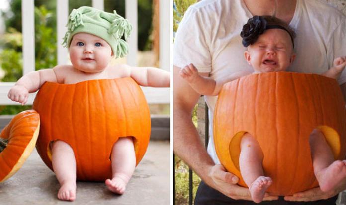 Rodzice odtwarzają zdjęcia z profesjonalnych sesji i... - zakochacie się w tych fotkach!