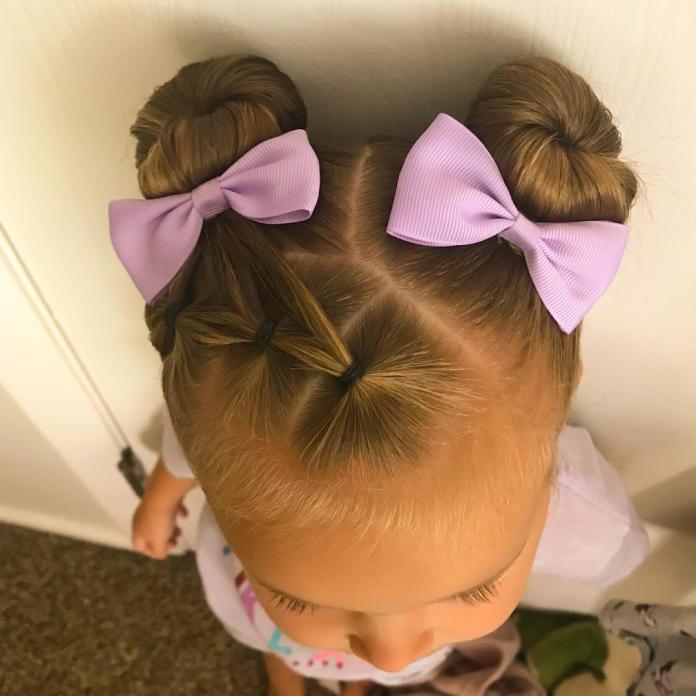 Słodkie fryzurki dla dziewczynek - 20 modnych pomysłów z Instagrama