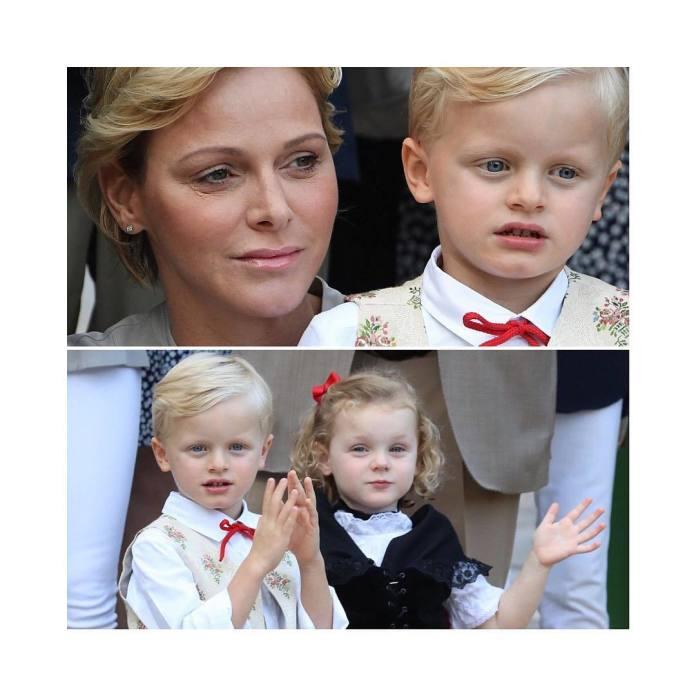 Najsłodsze BLIŹNIĘTA błękitnej krwi: oto Jacques i Gabriella, książęta Monaco