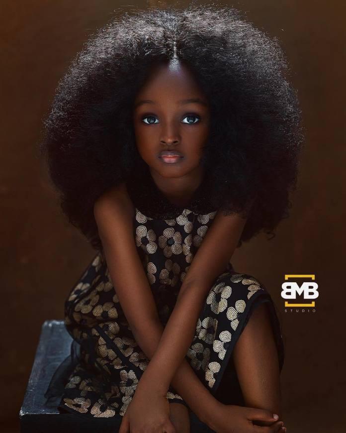 Pięcioletnia Nigeryjka NAJPIĘKNIEJSZĄ dziewczynką na świecie?