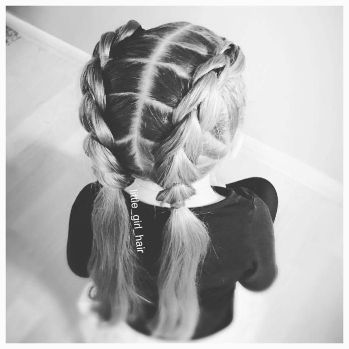 Urocze fryzurki dla dziewczynek - galeria modnych pomysłów z Instagrama