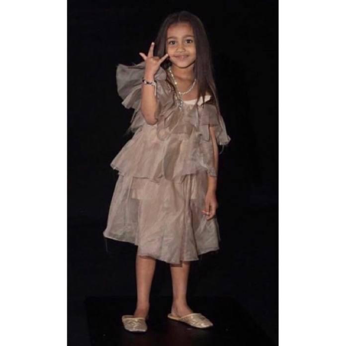 Kim Kardashian pozwala swojej pięcioletniej córce się malować, ale na te dwie rzeczy nie chce się zgodzić!