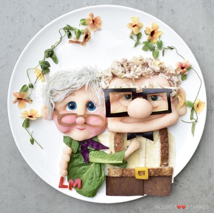 Ta mama dla swojego dziecka potrafi wyczarować arcydzieła... na talerzu